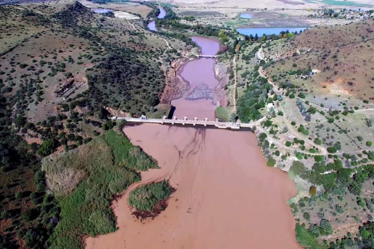 Silted Dams in South Africa